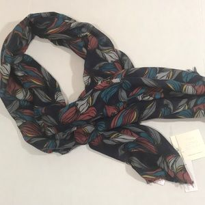 Loft floral print long scarf